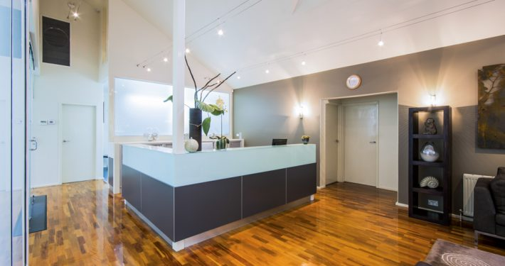 The Art of Dentistry Red Hill Reception
