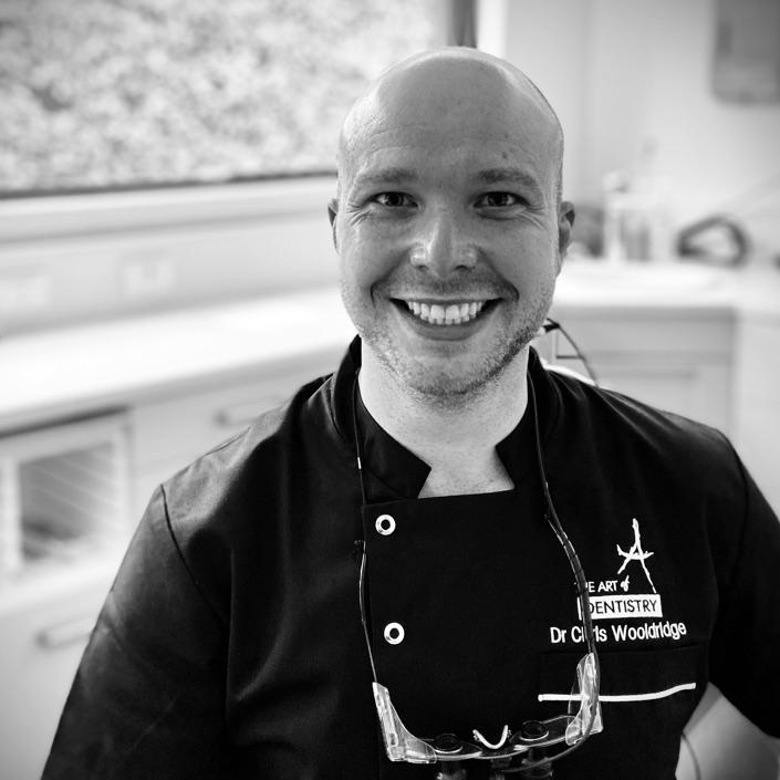 Dr Chris Wooldridge Headshot